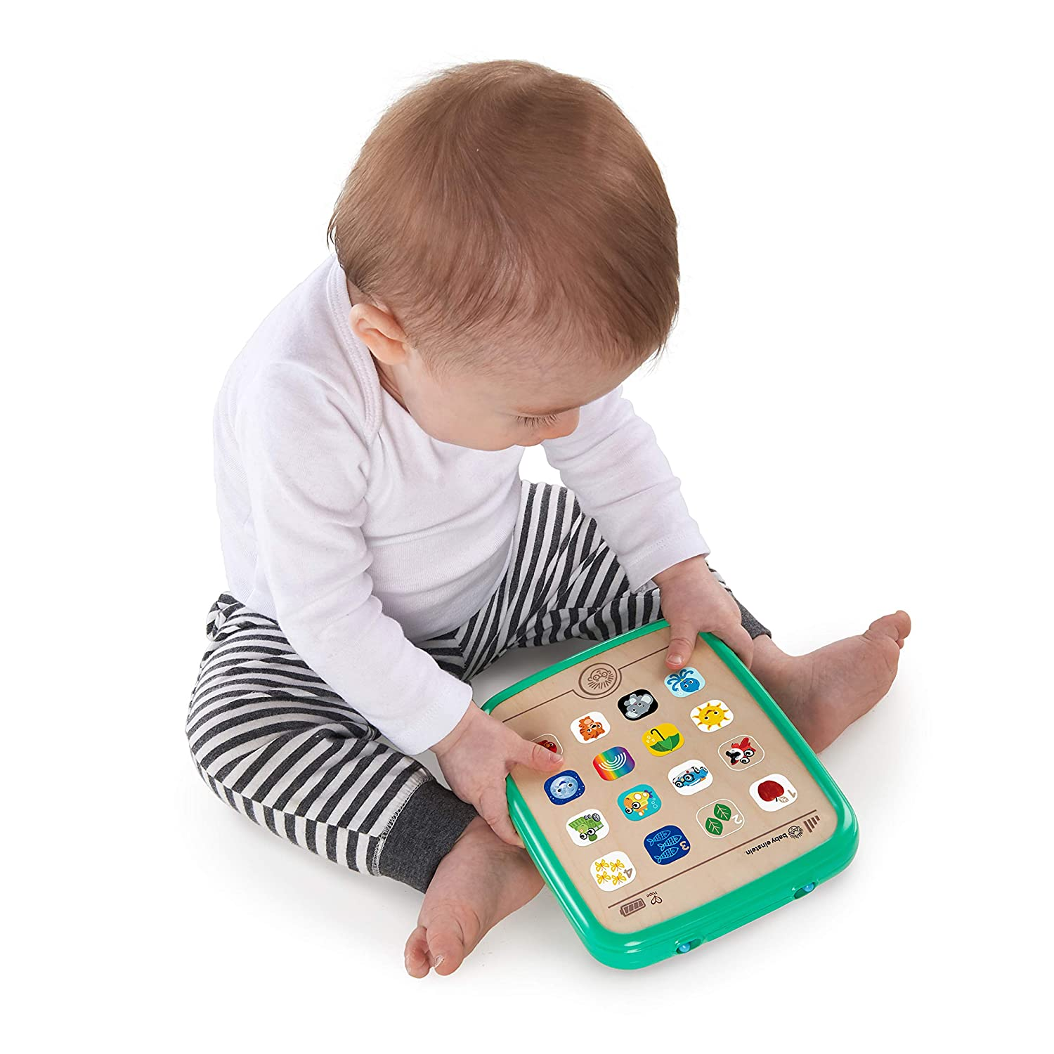 6 Months Baby Einstein Magic Touch Curiosity Tablet Wooden Musical Toy