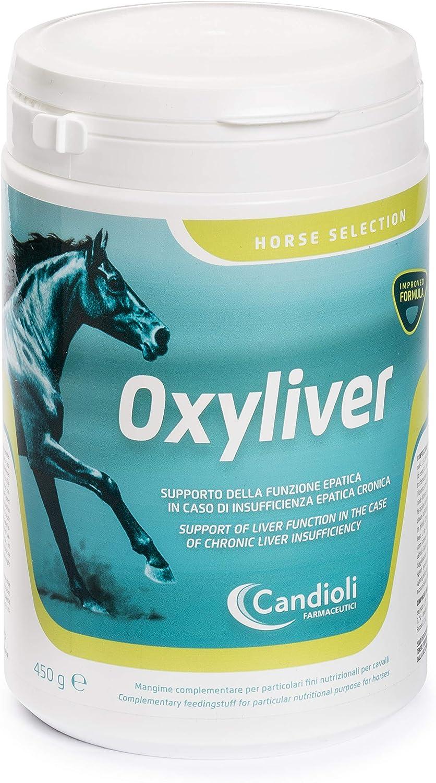Oxyliver Alimento complementario para Caballos – 450 g