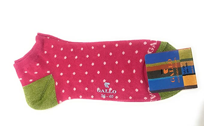 Gallo - Calcetines cortos - para mujer Giacinto Rosa Talla única