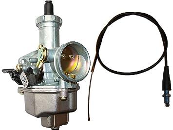 HONDA XR 100 CARBURETOR XR 100R XR100R XR100 1981-2003 FREE THROTTLE CABLE  TCL