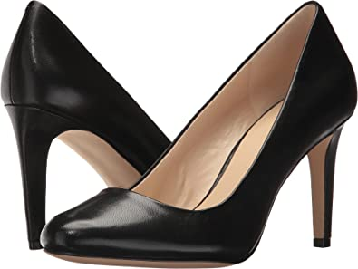 6cd2820caeb Nine West Women s Handjive Black Leather Pump