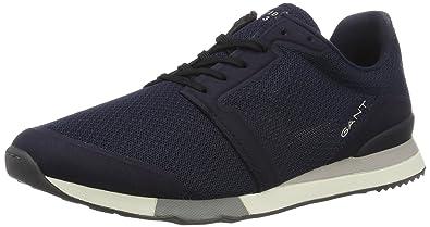 Footwear Herren Russell Low-Top, Blau (Marine), 41 EU GANT