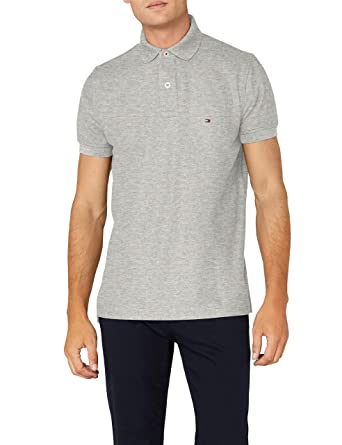 ce158aa058ce Tommy Hilfiger 867878433403 - Polo - Uni - Manches courtes - Homme ...