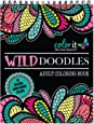 Wild Doodles Coloring Book for Adults, Anti Stress Coloring Book with Creative Patterns, Includes Complex Shapes for Advanced Colorists by ColorIt