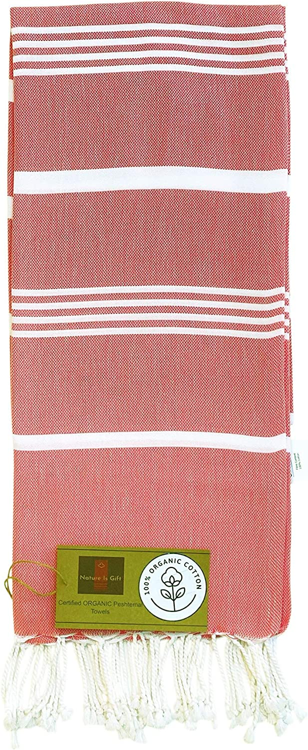 Organic Prewashed Turkish Beach Towels