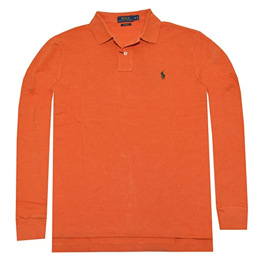 11a1d7d5597e Image Unavailable. Image not available for. Color  Polo Ralph Lauren Men  Custom Fit Long Sleeve ...