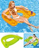 "Intex Sit ""n"" Float swimming pool lounger float ring"