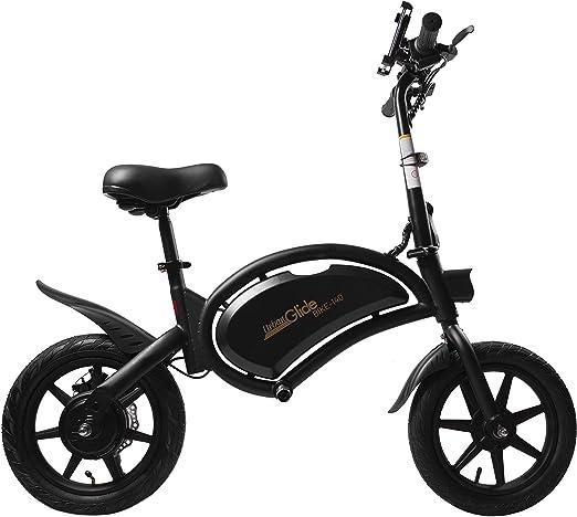 Urban Glide E-Bike 140 Negro Aluminio 35,6 cm (14