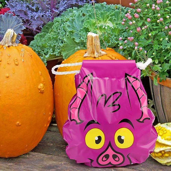 Amazon.com: GWHOLE - Bolsas para Halloween con cordón (10 ...