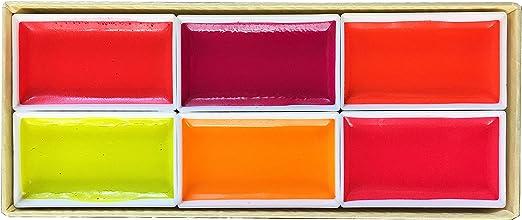Kissho Gansai Japanese Watercolor Paint 72 Colors Set w//Tracking# form JAPAN