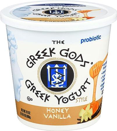 Greek Gods Honey Vanilla Greek Yogurt, 24 oz