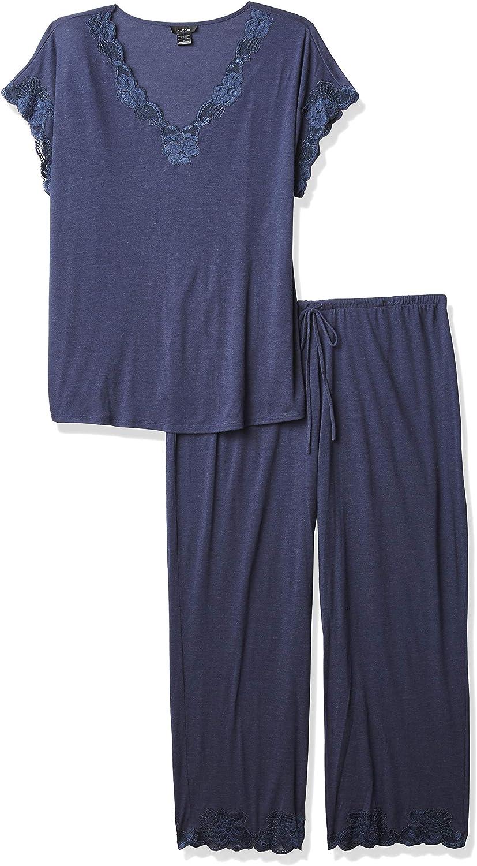 Natori Women's Zen Floral Short Sleeve Pajama Set