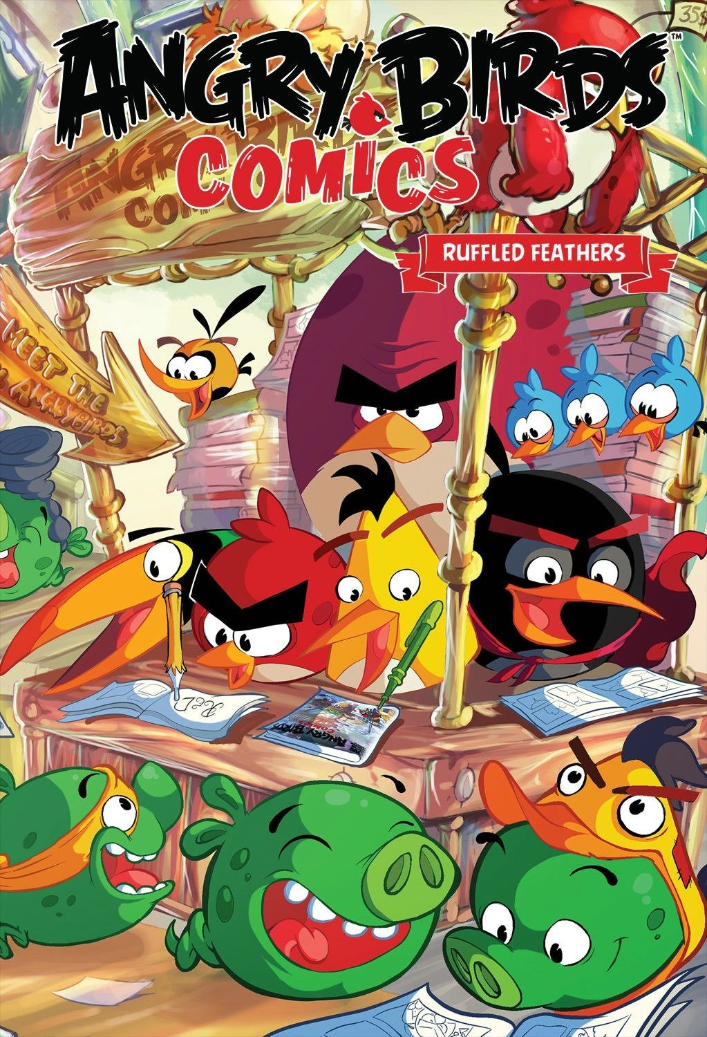 Angry Birds Comics Volume 5: Ruffled Feathers