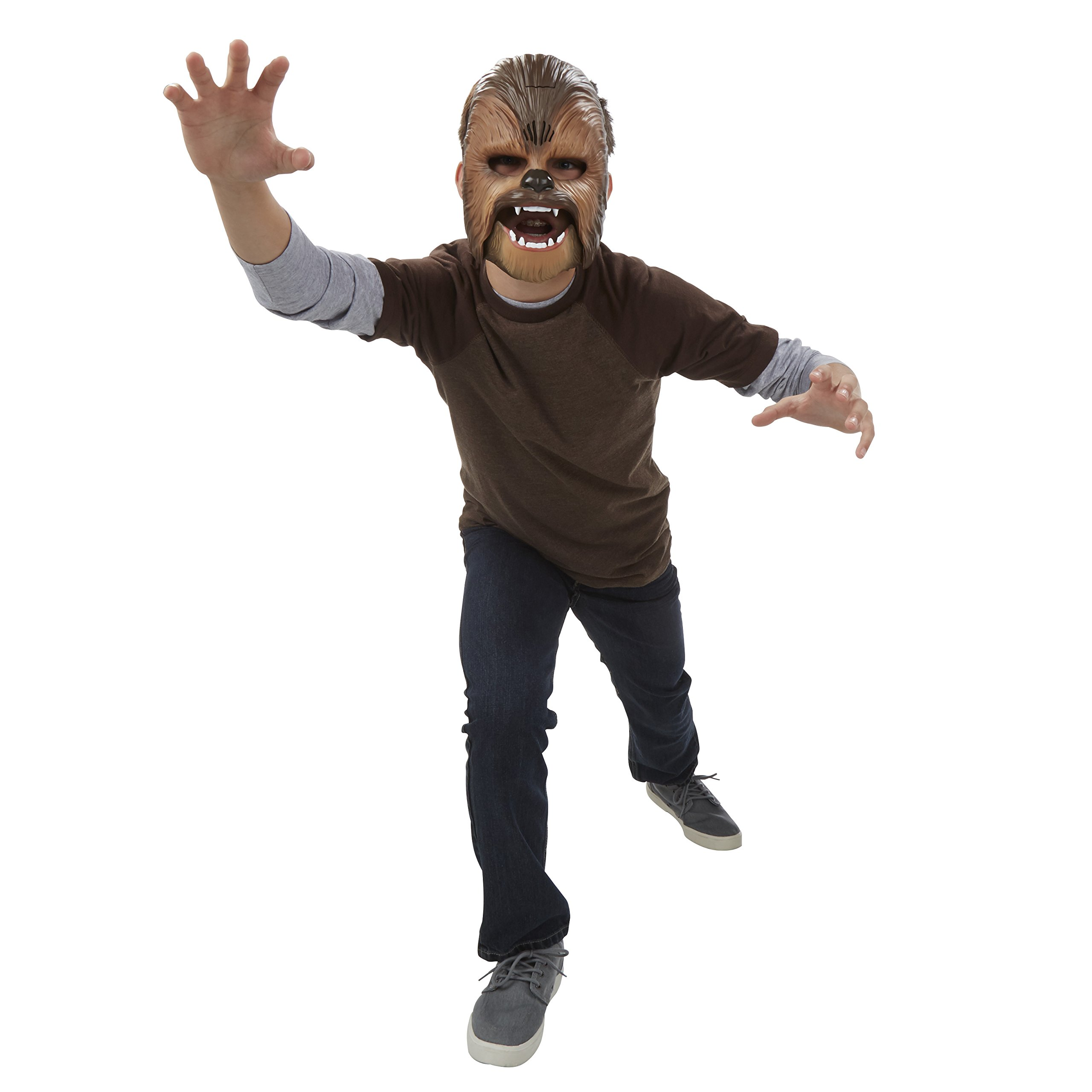 Star Wars Movie Roaring Chewbacca Wookiee Sounds Mask, Ages 5 and up (Amazon Exclusive) by Star Wars (Image #5)