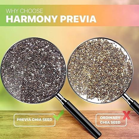 Amazon.com: Harmony Halvia Semillas de chía orgánicas de ...