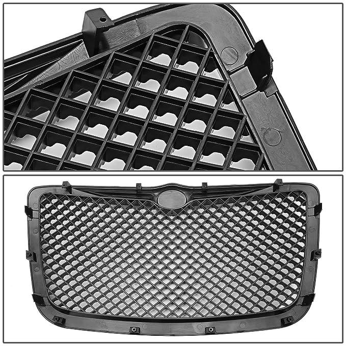amazon for chrysler 300 300c abs plastic mesh front bumper GMC Sierra Bumper Replacement amazon for chrysler 300 300c abs plastic mesh front bumper grille black 1st gen automotive