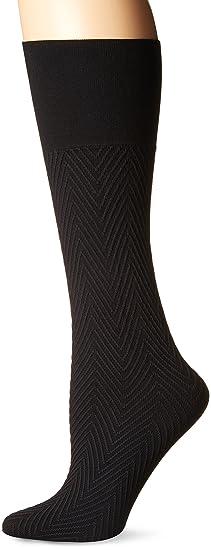 3308d29ed Berkshire Women s Comfy Cuff Chevron Trouser Socks at Amazon Women s ...