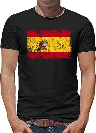 Shirt-People - Camiseta para hombre, diseño de bandera de España: Amazon.es: Ropa y accesorios