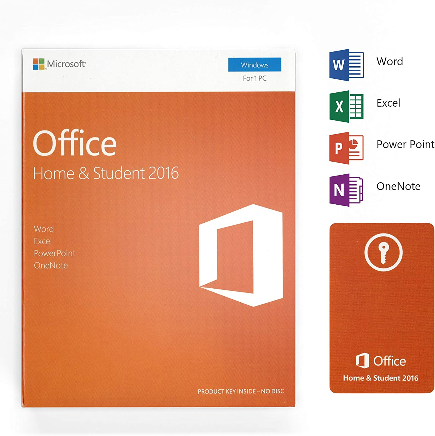 Office 2016 Home and Student | English License | for one PC only