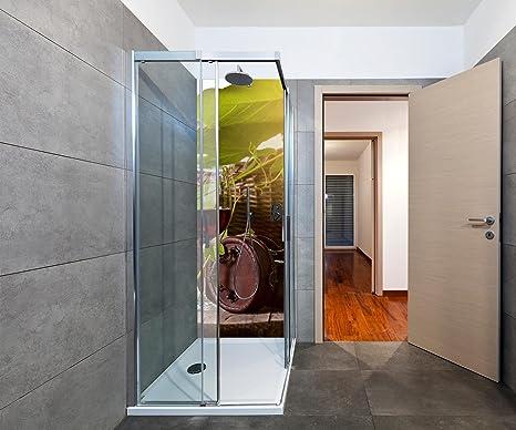 Pareti Con Bottiglie Di Vetro : Wandmotiv doccia parete posteriore bottiglia e vetro con vino
