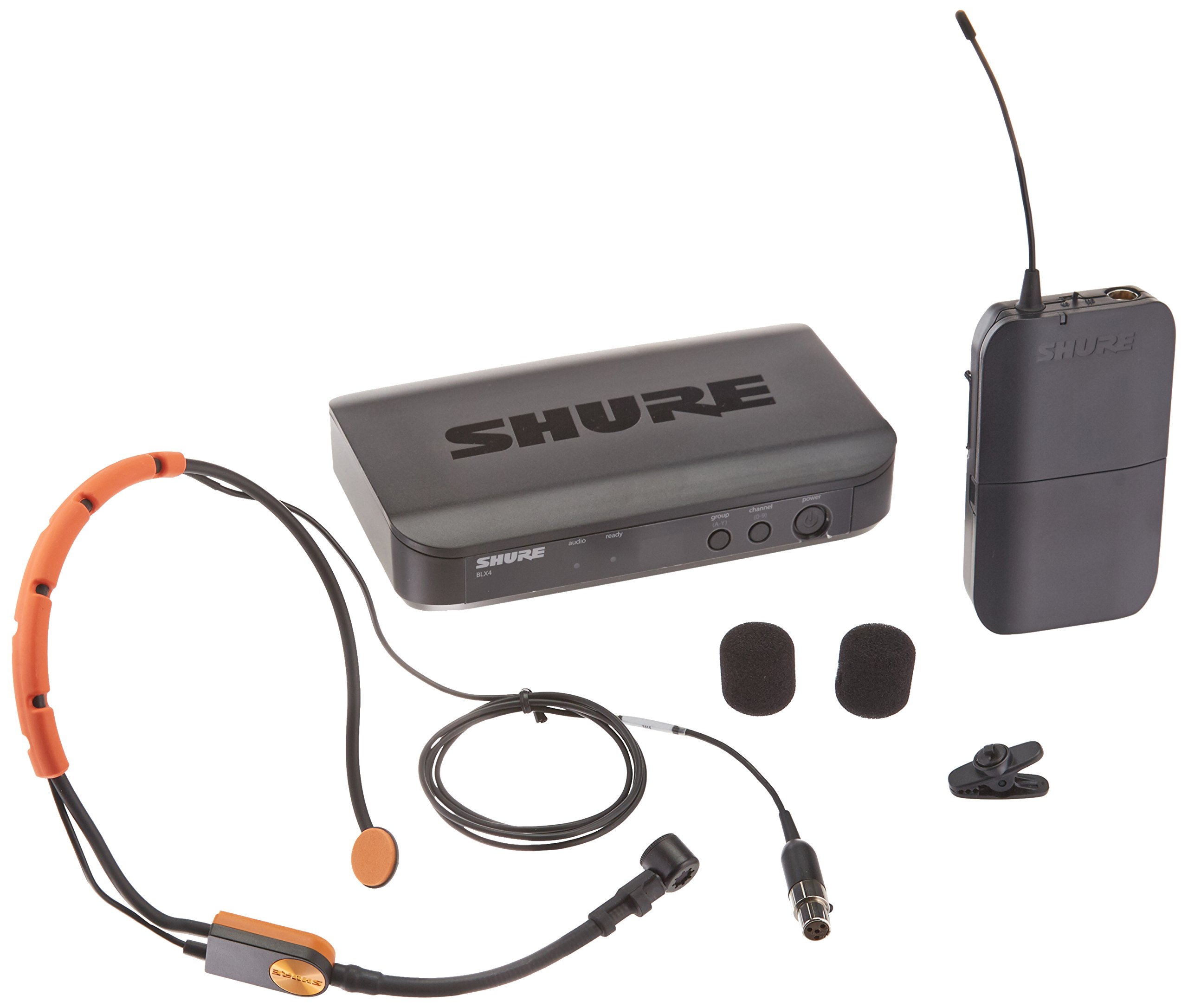 Shure BLX14/SM31-H9 Wireless System with SM31FH Fitness Headset Microphone, H9