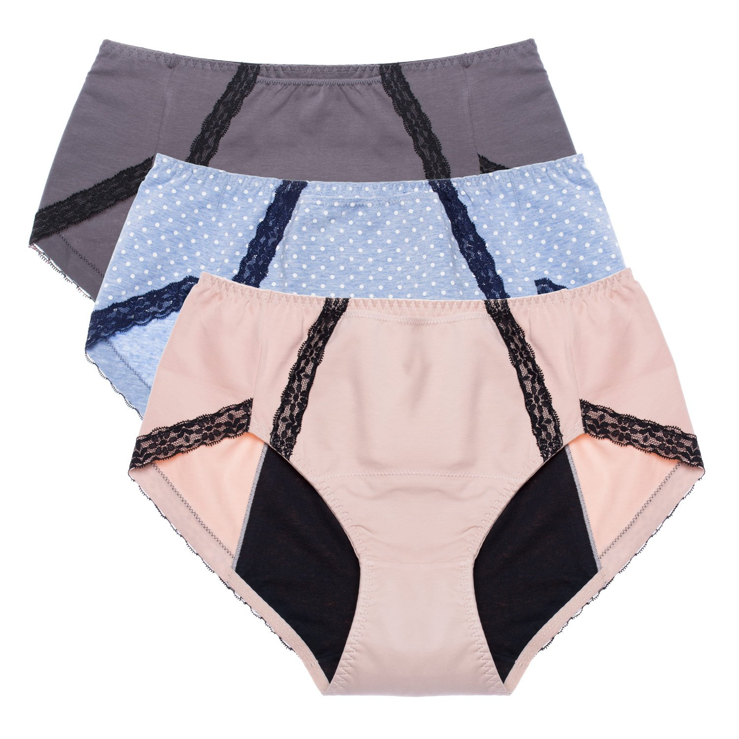 Intimate Portal Total Leak Proof Protective Briefs Incontinence Period Knickers