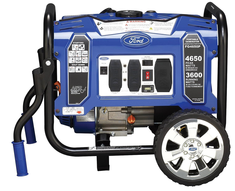 Ford Fg4650p M Series 4650w Peak 3600w Rated Portable Rv Generators Circuit Breaker Gas Powered Generator Garden Outdoor