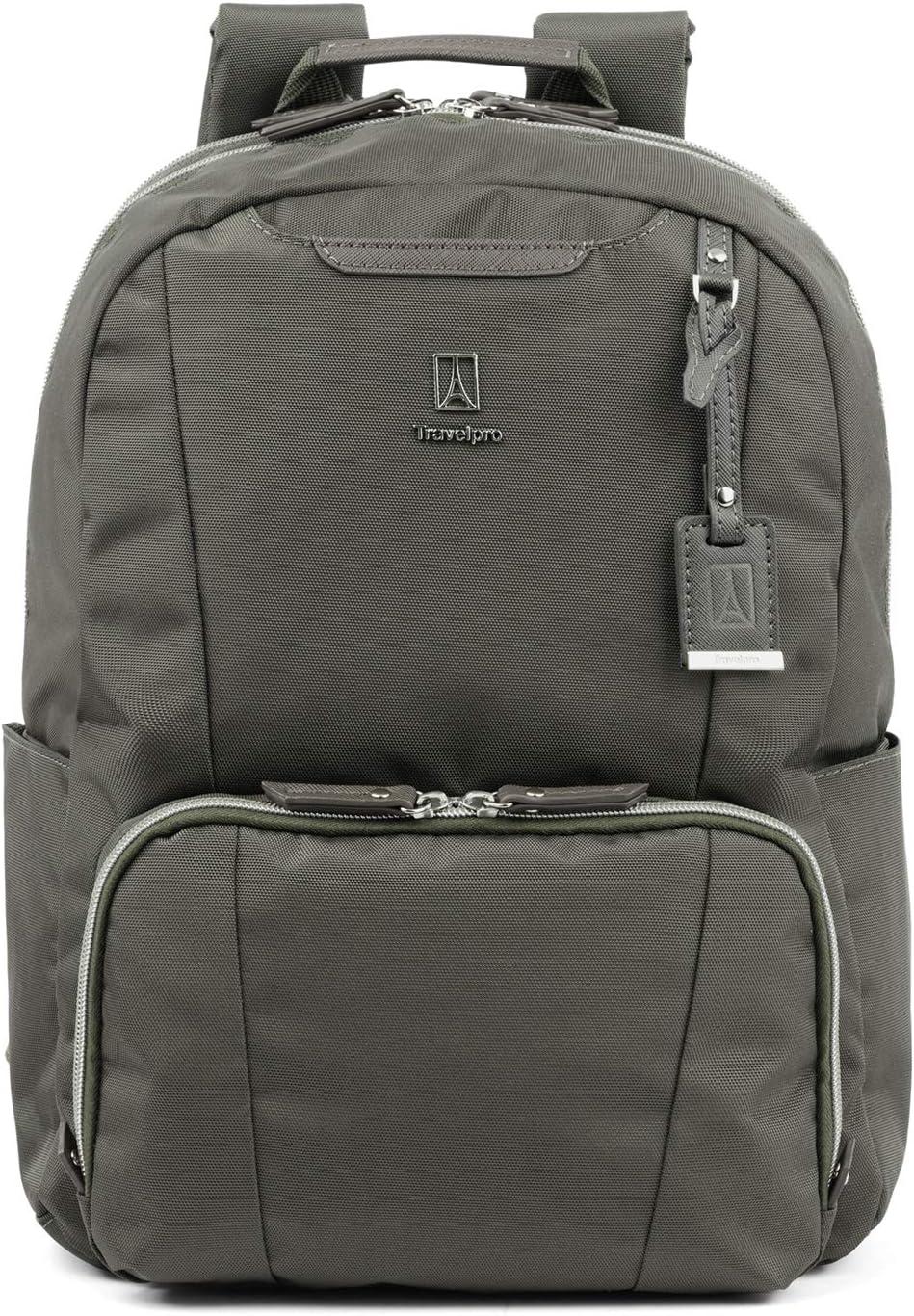 Travelpro Women's Maxlite 5-Laptop Backpack, Slate Green, One Size