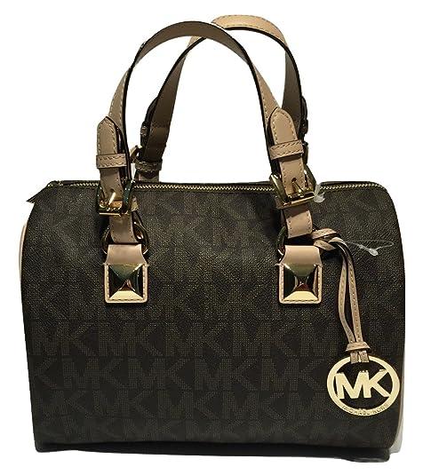 Amazon.com: Michael Kors MD Grayson Satchel Handbag ...