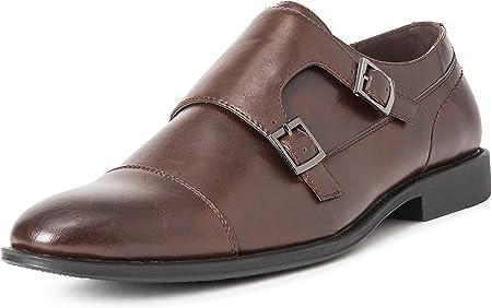 Hombre Queensberry George Cuero Formal Trabajo Oficina Inteligente Correa De MEnje Zapatos