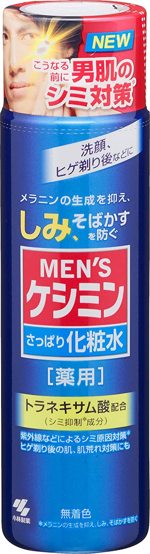 【小林製薬】MEN'Sケシミン化粧水のサムネイル