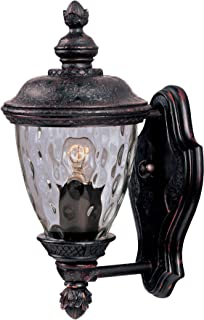 Maxim Lighting 3495WGOB Carriage House DC 1 Light Straight Mount Outdoor  12.5 Inch Wall
