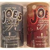 Trader Joes Coffee Bundle - Joe and Joe Dark - 2 Items