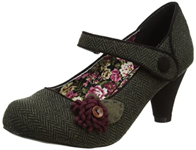 Joe Browns Damen Unique Tweedy Corsage Shoes Riemchen Pumps