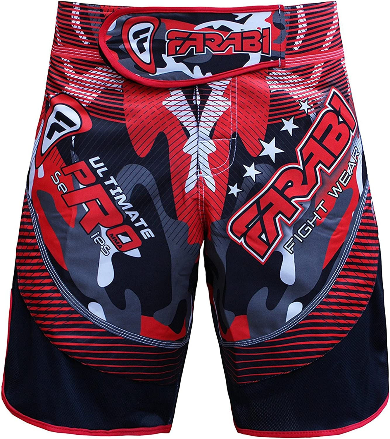 MMA Kickboxing Hybrid Fighting Shorts Grappling Cage Fight UFC BJJ Mens /& Kids