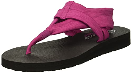 Skechers Womens Meditation-Studio Kicks Toe Ring Sandal