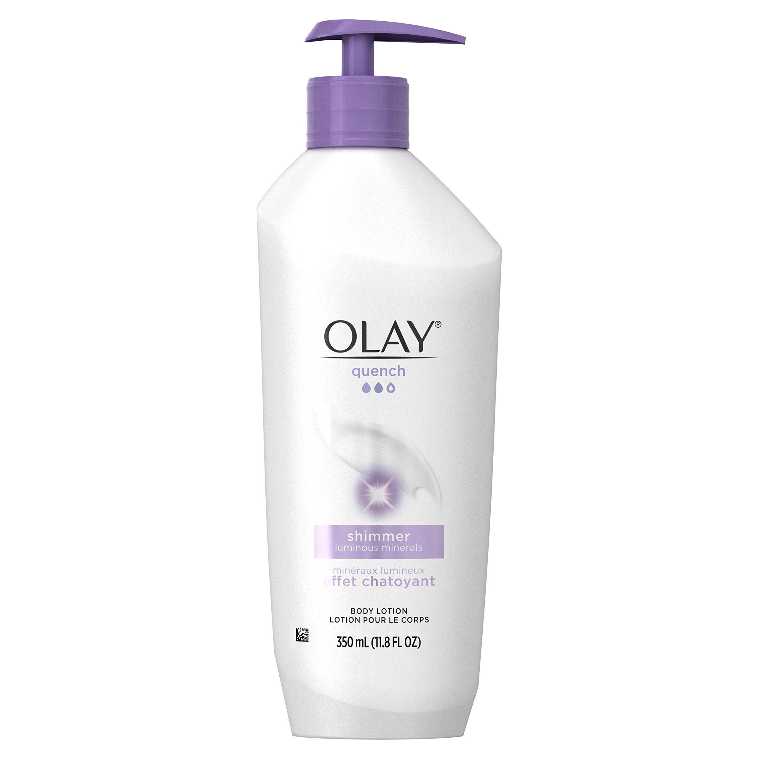 Olay Quench Plus Shimmer Body Lotion, 11.8 Fluid Ounce by Olay