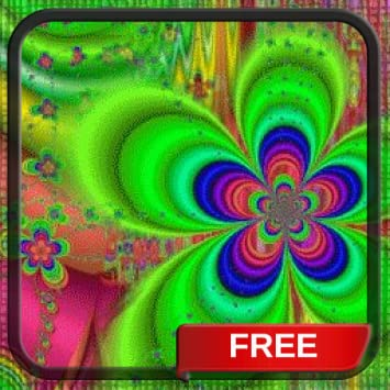 Amazon Com Trippy Flowers Live Wallpaper Free Animated