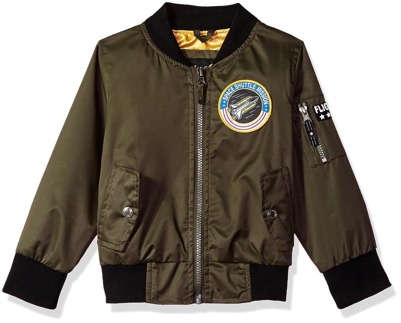 iXTREME boys Poly Twill Flight Jacket W/Satin Lining