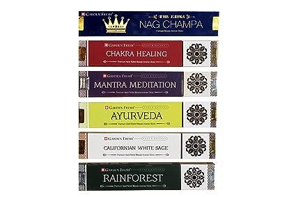 Amazon com: Garden Fresh Incense Sticks Set of 6 Fragrances