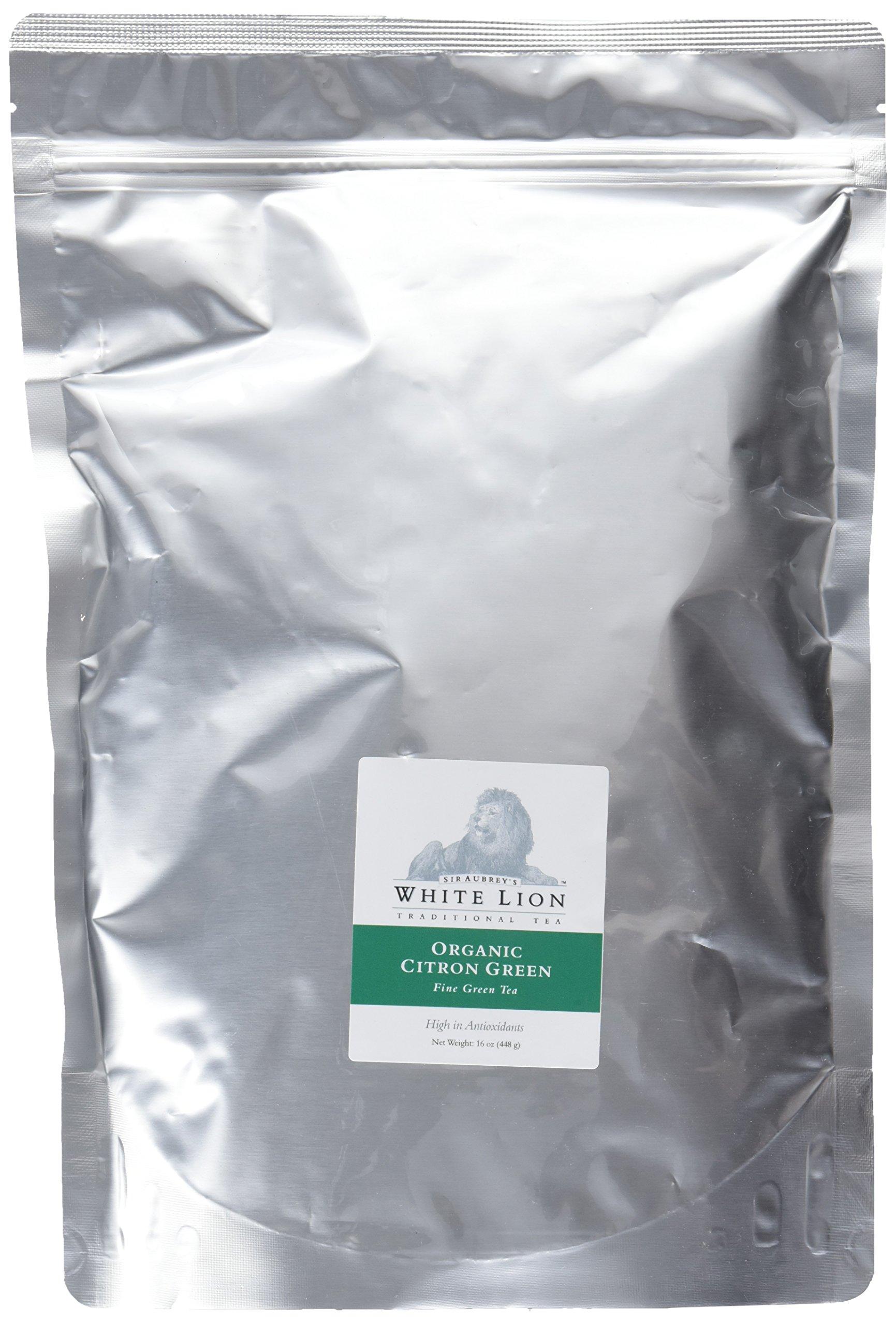 White Lion Organic Citron Green Loose Tea, 1 Pound