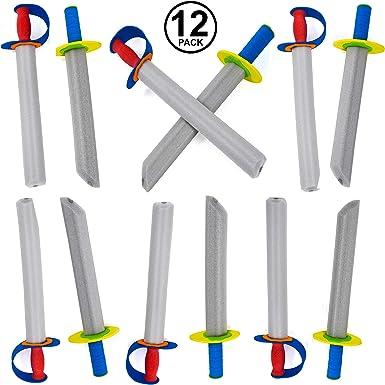 Tigerdoe Foam Swords for Kids - Toy Swords - Ninja Swords - Prince Swords Party Favor - Toy Weapons Swords