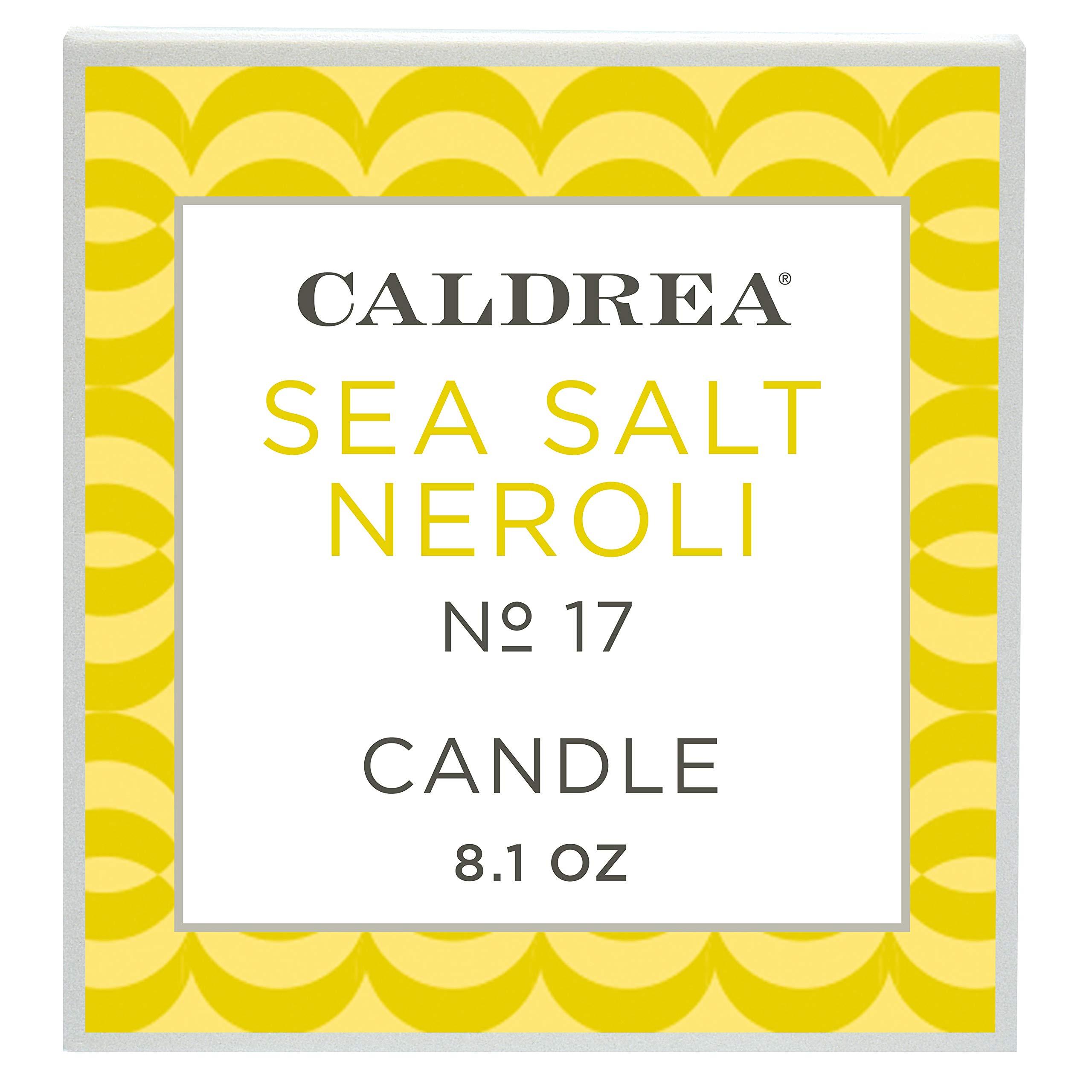 Caldrea Sea Salt Neroli Scented Candle 8.1 oz