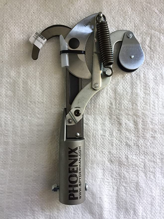 Phoenix Aluminum Pole Saw Head with Triple Cut Saw Blade for Tree Trimming