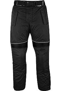 negro//gris /Pantalones de motorista Cordura Textiles Pantal/ón de Motorista Combi Pantal/ón German Wear/