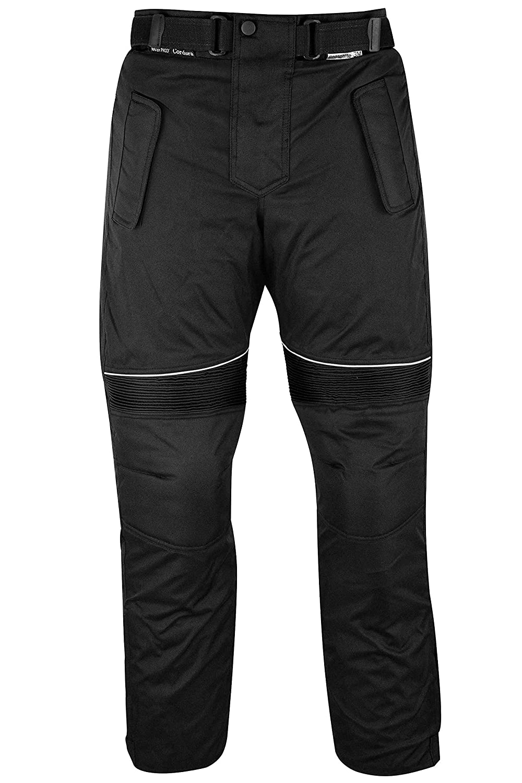German Wear GW350T - Pantalones de Moto, Negro, 58 EU/3XL: 112 xm: Amazon.es: Coche y moto