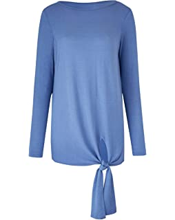 Womens Tie Front Jumper Simply Be