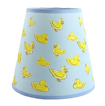 Amazon.com: SooRoo Kids Duck Lamp Shade - Childrens Dozing Ducks ...