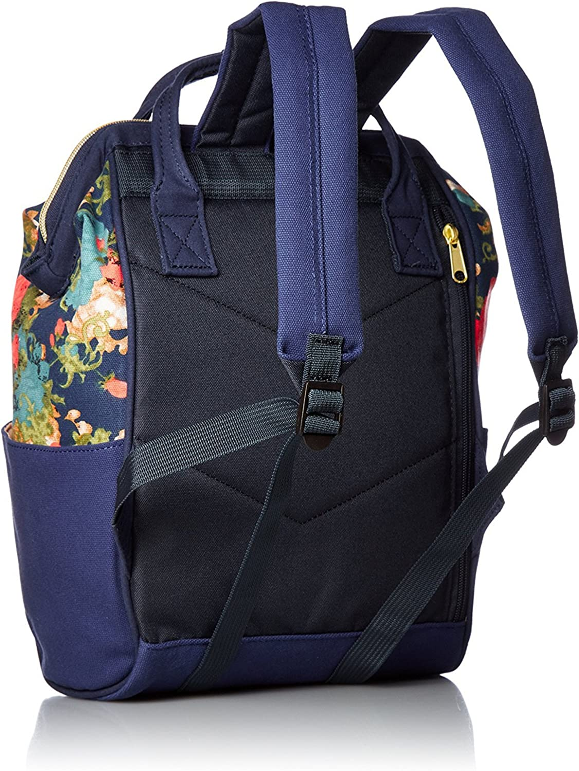 N Flower Smal Size Anello Polyester Canvas Backpacks Japan import