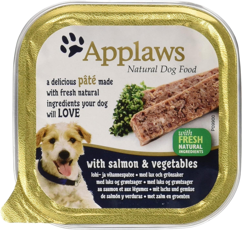 Applaws Dog Salmón Verdura Paté 150 gr